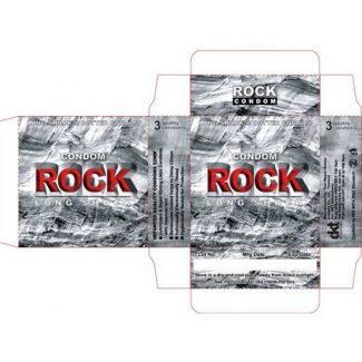 Bao cao su Rock 3 PCS