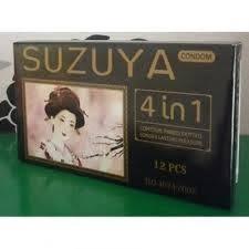 Bao cao su Suzuya  4 in 1